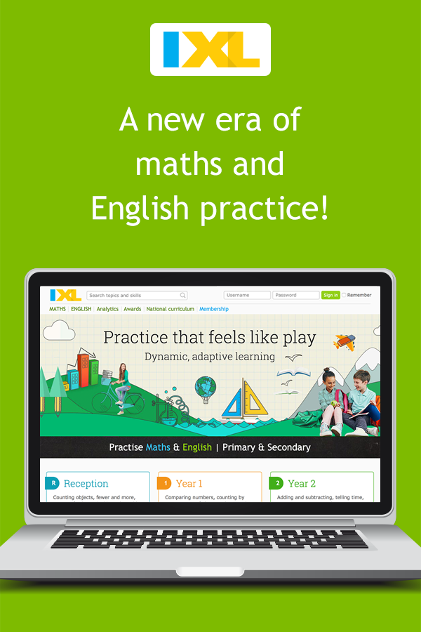 IXL - Third year English practice