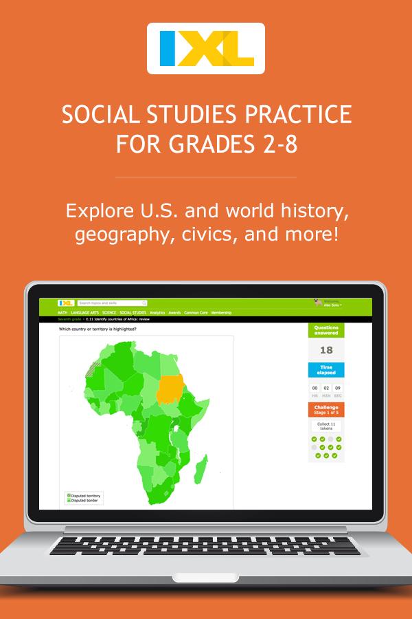 IXL - The Constitution: amendments (7th grade social studies practice)